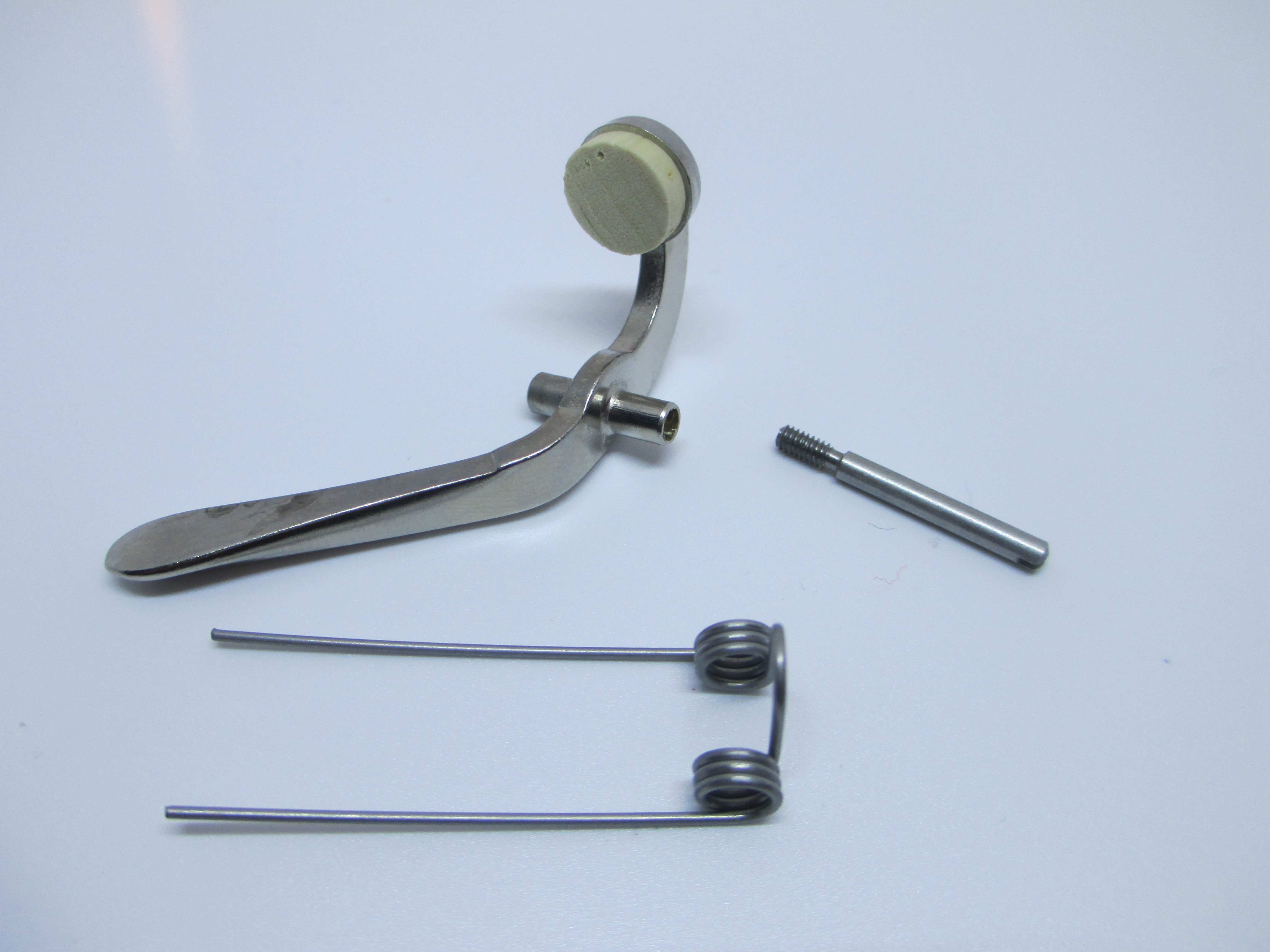 Conn Trombone Waterkey/Spit valve with Cork, Rod Screw and Spring