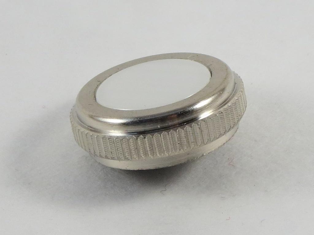 New Jupiter Tuba//Sousaphone Finger Button with Felt Nickel Finish!